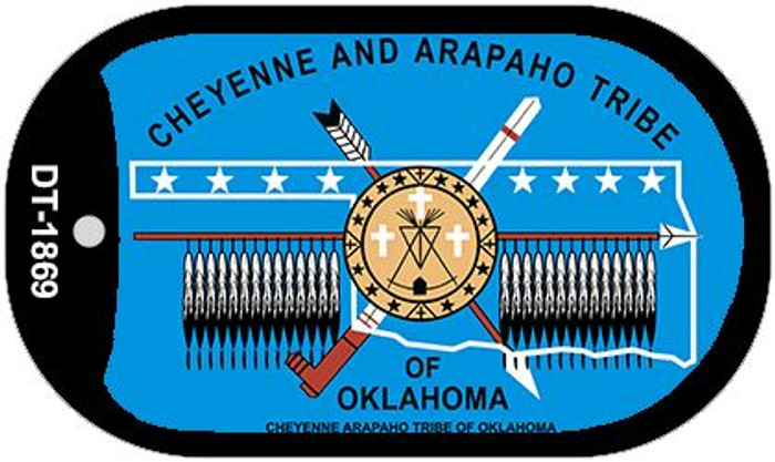Cheyenne Arapaho Tribe Of Oklahoma Wholesale Novelty Metal Dog Tag Necklace DT-1869