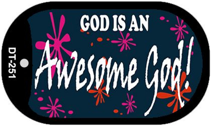 God Awesome God Wholesale Novelty Metal Dog Tag Necklace DT-251