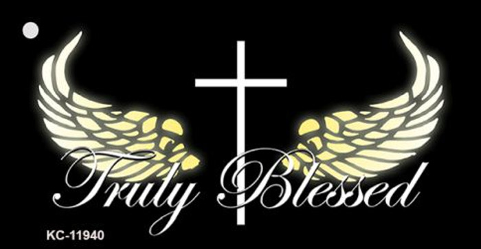 Truly Blessed Wholesale Novelty Metal Key Chain KC-11940