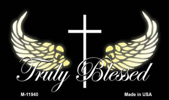 Truly Blessed Wholesale Novelty Metal Magnet M-11940