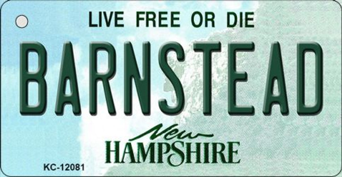 Barnstead New Hampshire State Wholesale Novelty Metal Key Chain KC-12081