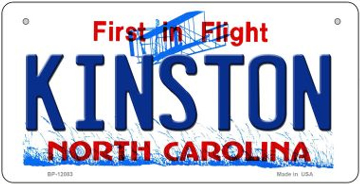Kinston North Carolina State Wholesale Novelty Metal Bicycle Plate BP-12083