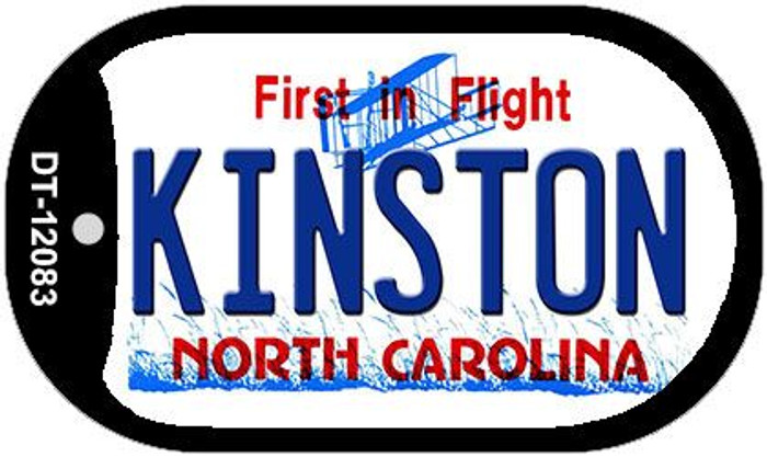 Kinston North Carolina State Wholesale Novelty Metal Dog Tag Necklace DT-12083