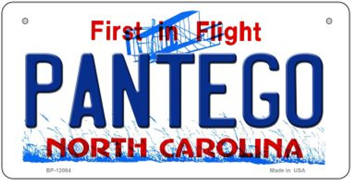 Pantego North Carolina State Wholesale Novelty Metal Bicycle Plate BP-12084