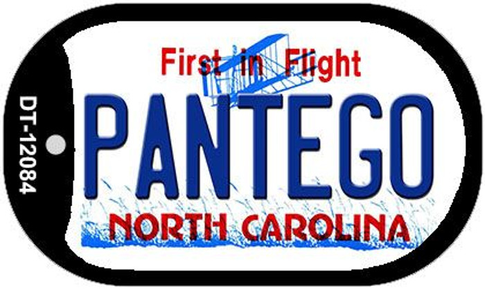 Pantego North Carolina State Wholesale Novelty Metal Dog Tag Necklace DT-12084