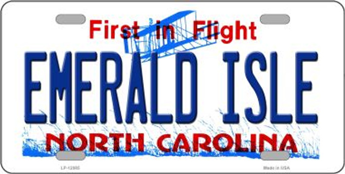 Emerald Island North Carolina State Wholesale Novelty Metal License Plate LP-12085