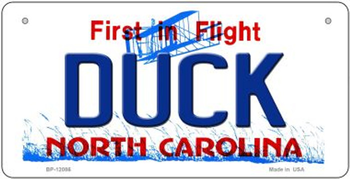 Duck North Carolina State Wholesale Novelty Metal Bicycle Plate BP-12086