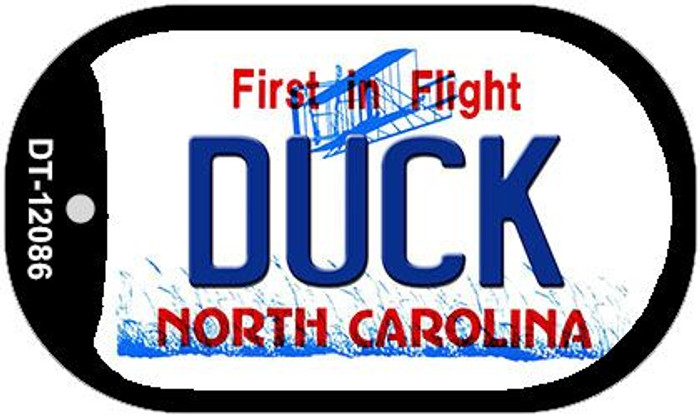 Duck North Carolina State Wholesale Novelty Metal Dog Tag Necklace DT-12086