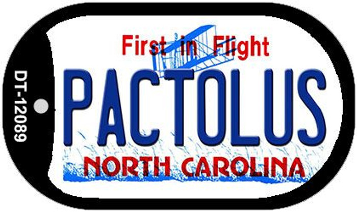 Pactolus North Carolina State Wholesale Novelty Metal Dog Tag Necklace DT-12089
