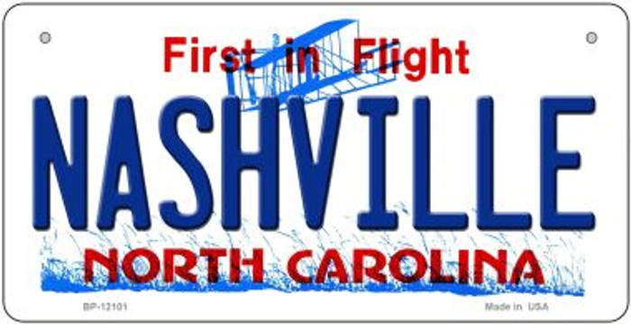 Nashville North Carolina State Wholesale Novelty Metal Bicycle Plate BP-12101