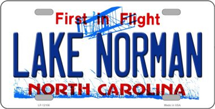 Lake Norman North Carolina State Wholesale Novelty Metal License Plate LP-12106