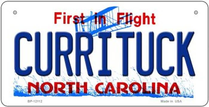 Currituck North Carolina State Wholesale Novelty Metal Bicycle Plate BP-12112