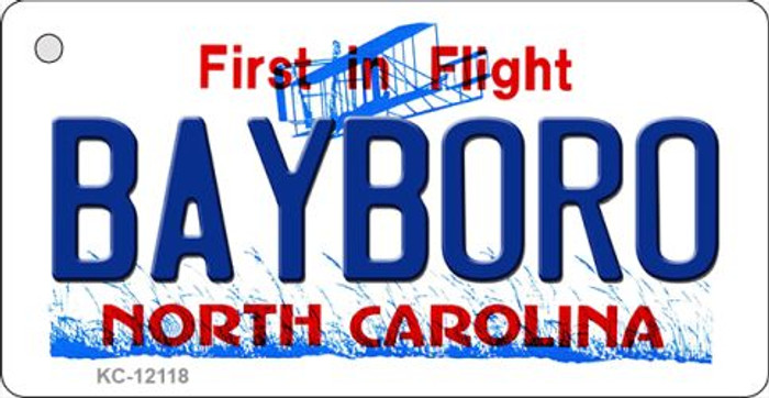 Bayboro North Carolina State Wholesale Novelty Metal Key Chain KC-12118