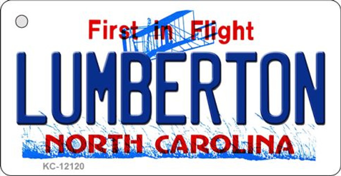 Lumberton North Carolina State Wholesale Novelty Metal Key Chain KC-12120