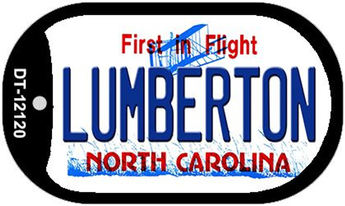 Lumberton North Carolina State Wholesale Novelty Metal Dog Tag Necklace DT-12120
