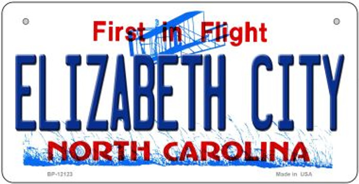 Elizabeth City North Carolina State Wholesale Novelty Metal Bicycle Plate BP-12123