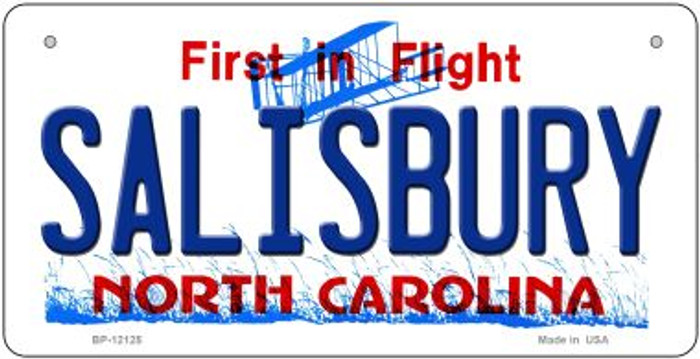 Salisbury North Carolina State Wholesale Novelty Metal Bicycle Plate BP-12125