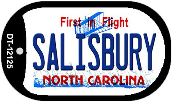 Salisbury North Carolina State Wholesale Novelty Metal Dog Tag Necklace DT-12125