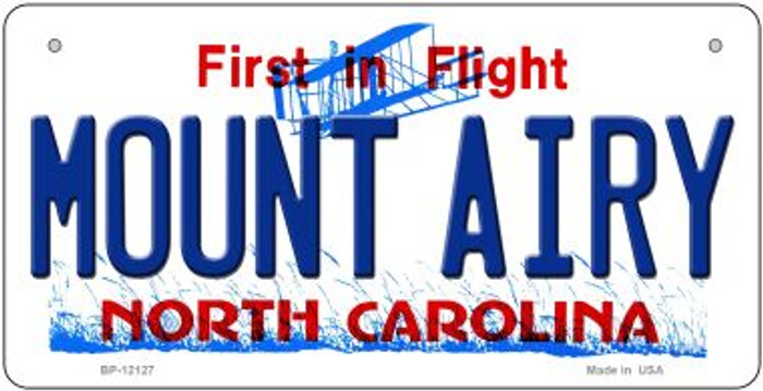 Mount Airy North Carolina State Wholesale Novelty Metal Bicycle Plate BP-12127