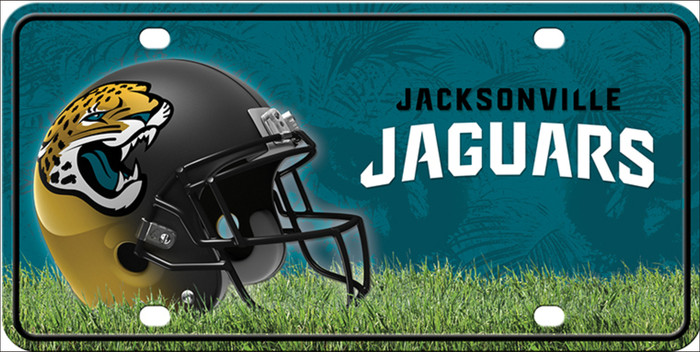 Jacksonville Jaguars Wholesale Metal Novelty License Plate LP-705