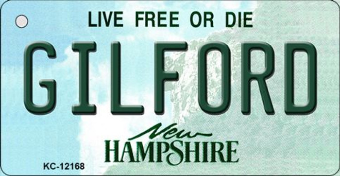 Gilford New Hampshire Wholesale Novelty Metal Key Chain KC-12168