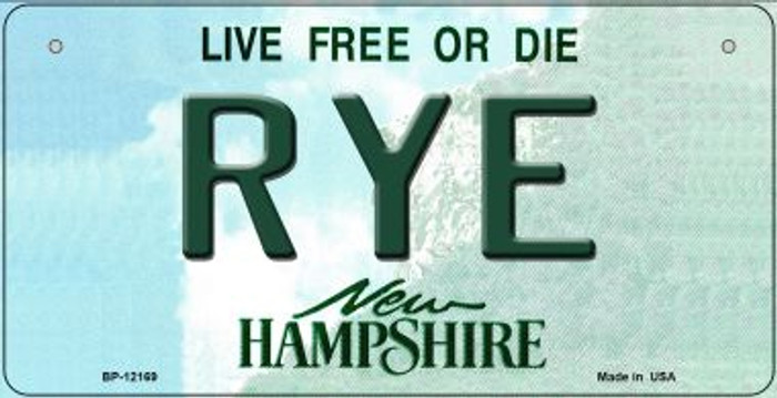 Rye New Hampshire Wholesale Novelty Metal Bicycle Plate BP-12169