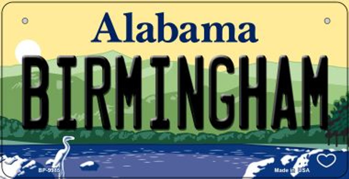 Birmingham Alabama Wholesale Novelty Metal Bicycle Plate BP-9985