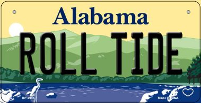 Roll Tide Alabama Wholesale Novelty Metal Bicycle Plate BP-9995