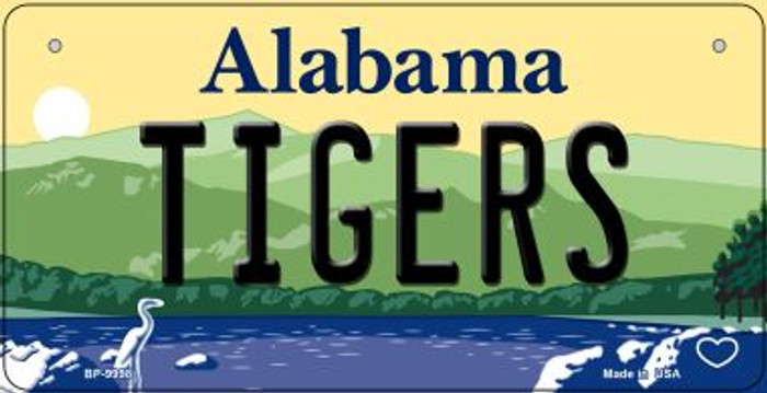 Tigers Alabama Wholesale Novelty Metal Bicycle Plate BP-9998
