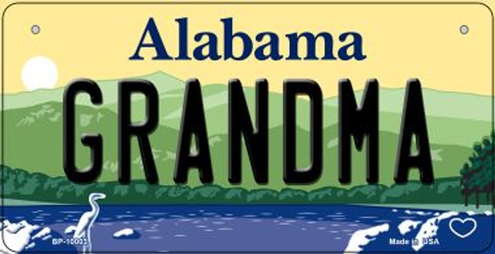 Grandma Alabama Wholesale Novelty Metal Bicycle Plate BP-10003