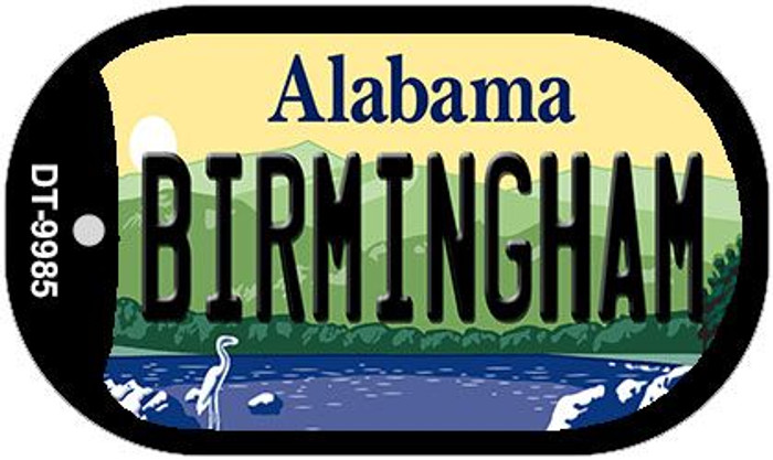 Birmingham Alabama Wholesale Novelty Metal Dog Tag Necklace DT-9985