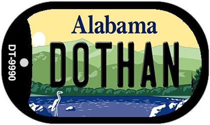 Dothan Alabama Wholesale Novelty Metal Dog Tag Necklace DT-9990