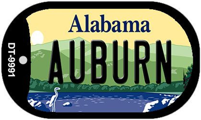 Auburn Alabama Wholesale Novelty Metal Dog Tag Necklace DT-9991