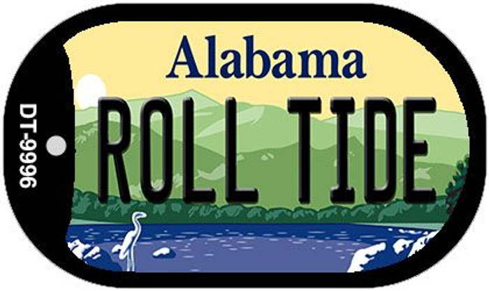 Roll Tide Alabama Wholesale Novelty Metal Dog Tag Necklace DT-9995