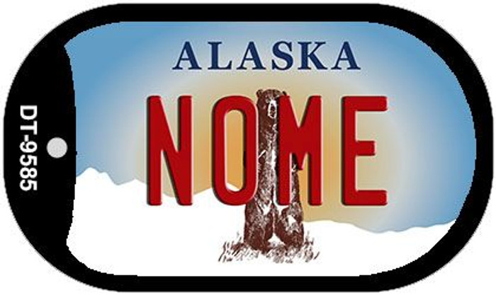 Nome Alaska Wholesale Novelty Metal Dog Tag Necklace DT-9585