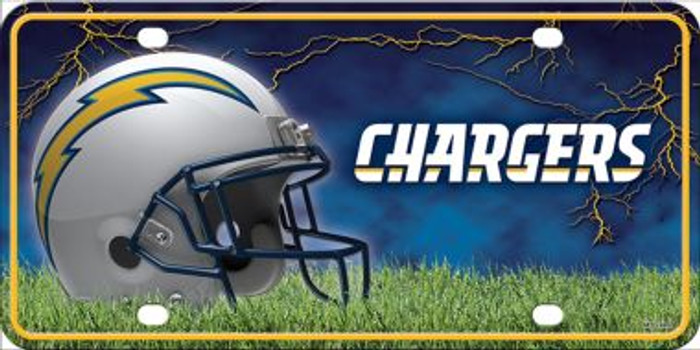 Los Angeles Chargers Wholesale Metal Novelty License Plate