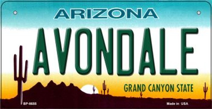 Avondale Arizona Wholesale Novelty Metal Bicycle Plate BP-8655