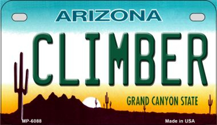 Climber Arizona Wholesale Novelty Metal Motorcycle Plate MP-6088