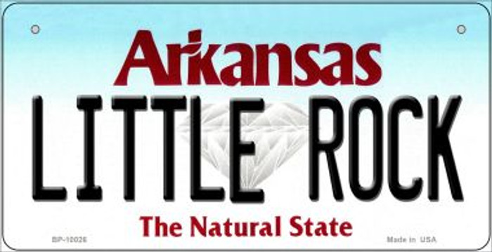 Little Rock Arkansas Wholesale Novelty Metal Bicycle Plate BP-10026