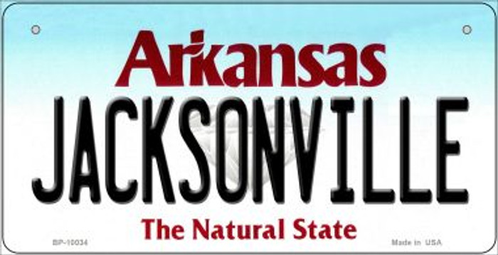 Jacksonville Arkansas Wholesale Novelty Metal Bicycle Plate BP-10034