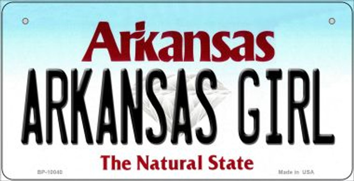 Arkansas Girl Wholesale Novelty Metal Bicycle Plate BP-10040