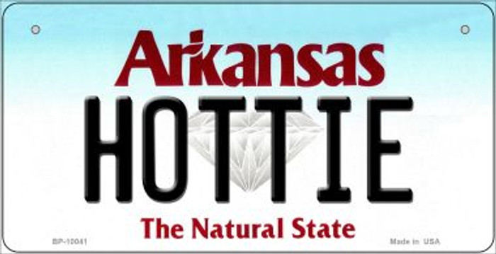 Hottie Arkansas Wholesale Novelty Metal Bicycle Plate BP-10041