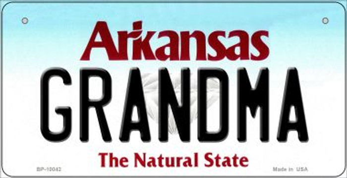 Grandma Arkansas Wholesale Novelty Metal Bicycle Plate BP-10042
