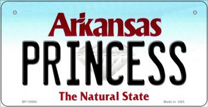 Princess Arkansas Wholesale Novelty Metal Bicycle Plate BP-10054