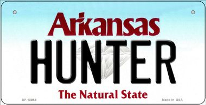 Hunter Arkansas Wholesale Novelty Metal Bicycle Plate BP-10058