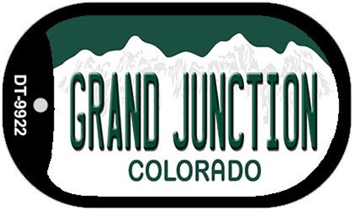 Grand Junction Colorado Wholesale Novelty Metal Dog Tag Necklace DT-9922