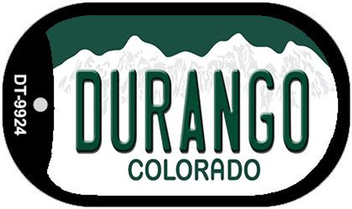 Durango Colorado Wholesale Novelty Metal Dog Tag Necklace DT-9924