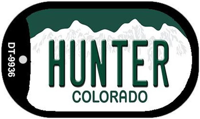 Hunter Colorado Wholesale Novelty Metal Dog Tag Necklace DT-9936