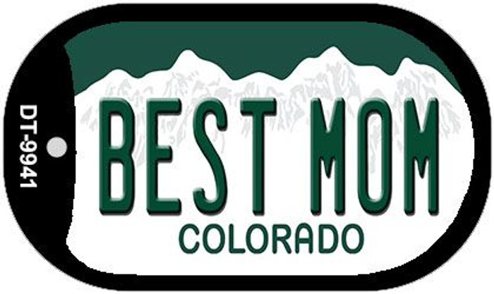 Best Mom Colorado Wholesale Novelty Metal Dog Tag Necklace DT-9941