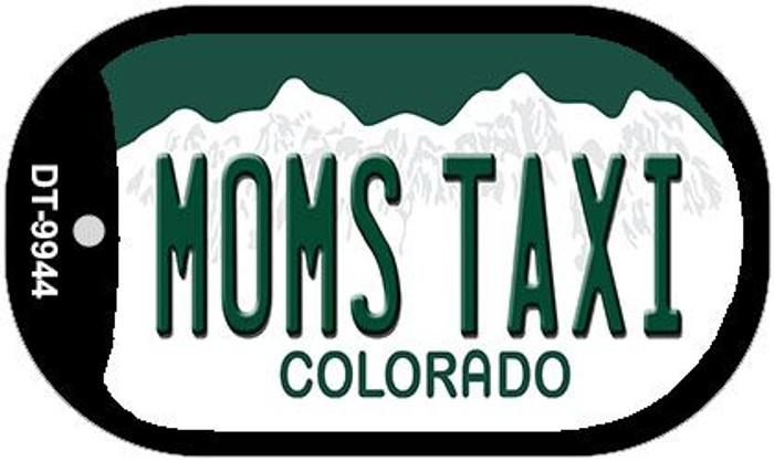 Moms Taxi Colorado Wholesale Novelty Metal Dog Tag Necklace DT-9944